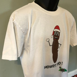 Vintage Shirts - 1998 Mr Hankey South Park Shirt Christmas Poo 90s